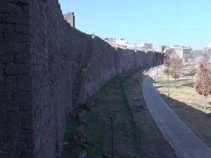 Tarihi mekanlarında sokağa çıkma kısıtlamasında sessizlik hakim